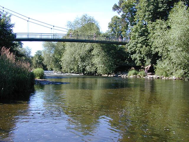 Dolerw Bridge - Newtown