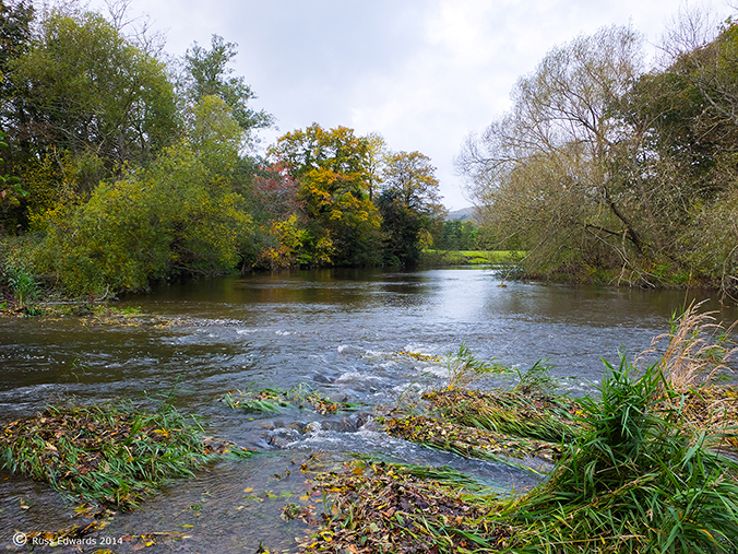 The river at Vaynor - Oct 2014