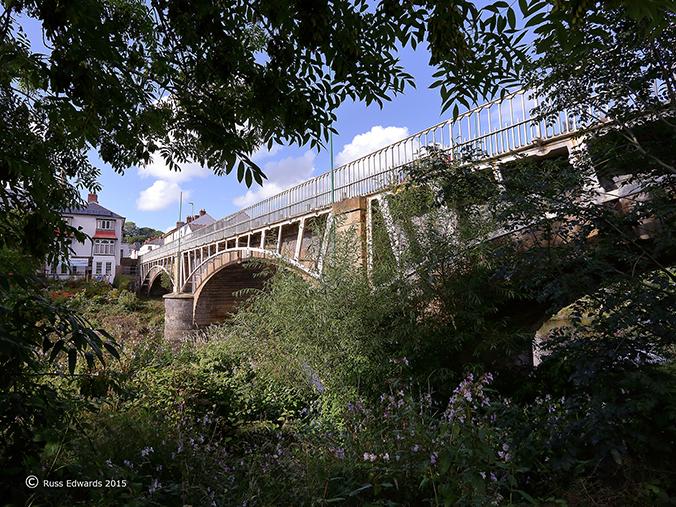 The riverbank at the Long Bridge.